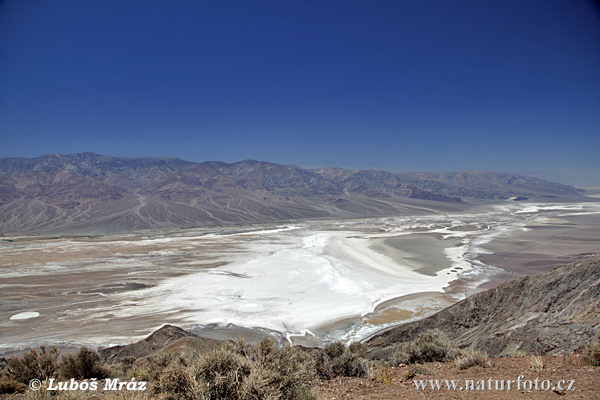Údolí smrti (Death Valley, California)