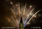 Ohňostroj Třeboň 010113 (Fireworks)