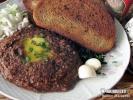 Tatarský biftek ze syrovinek